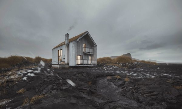 3D Visualization for a House Design Presentation