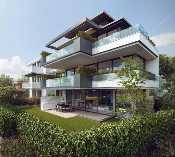 Rendering Services For Amazing House Exterior