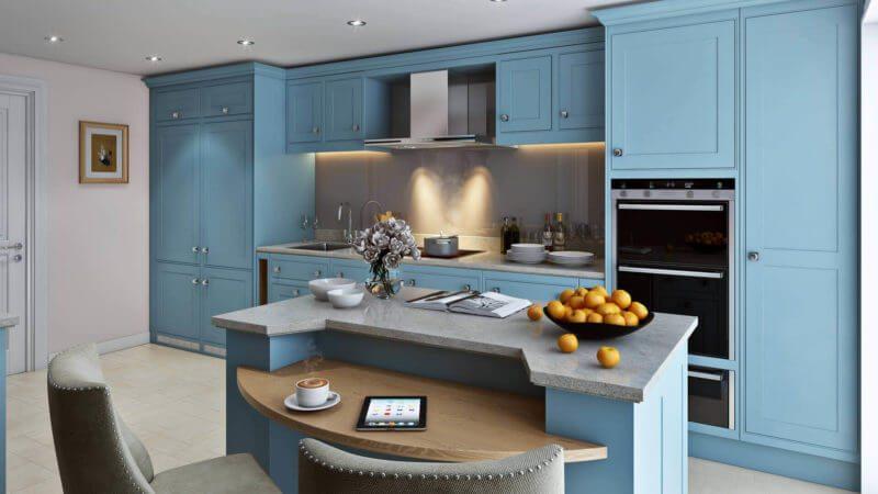 Architectural Render ofr a Kitchen