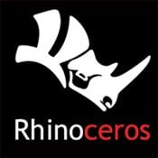 Rhinoceros 3D Modeling Software Icon