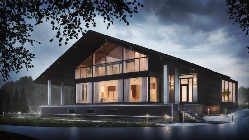 Architectural Visualization Project for a Standard House