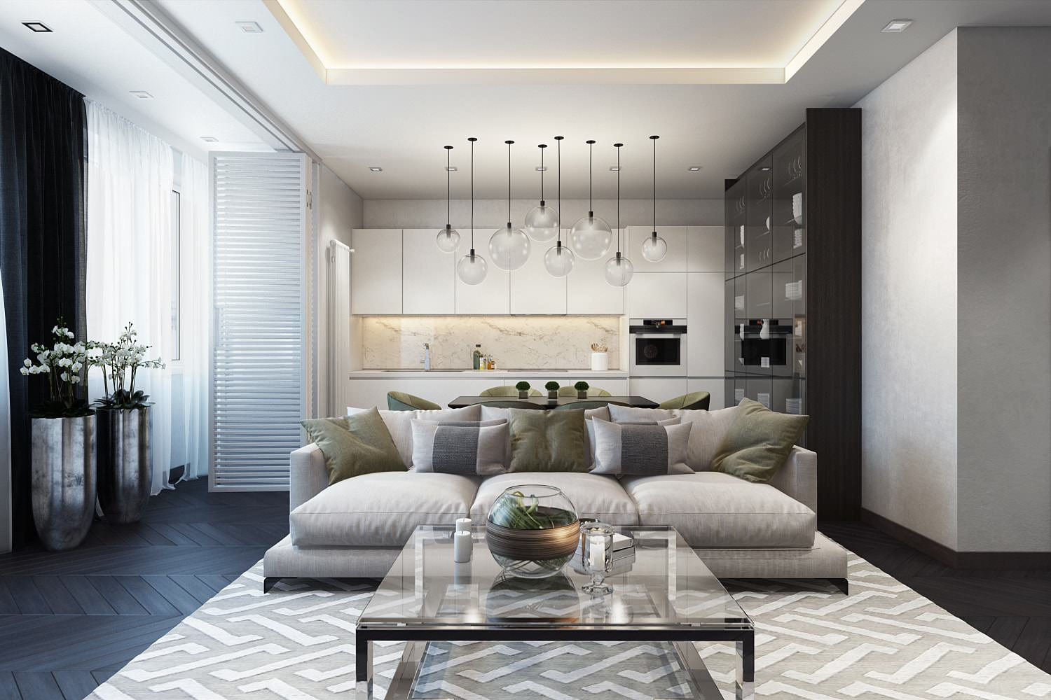 Realtors Use Virtual Staging To Show What Space Can Become. Living Room