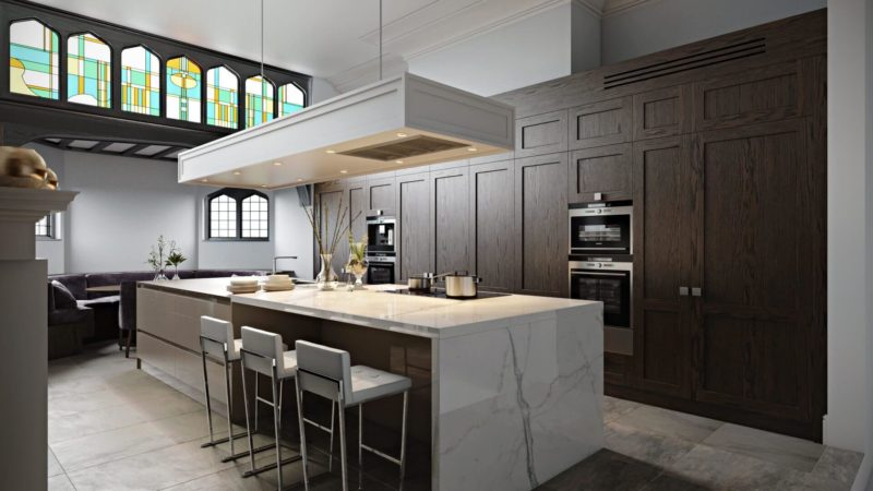 5 Problems Architects Solve With Photorealistic Architectural Rendering: Kitchen Design View04