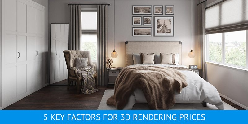 5 key factors for 3D rendering prices