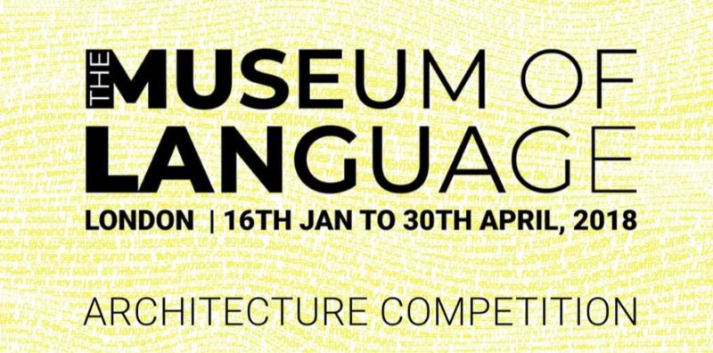 Architectural Competition The Museum of Language