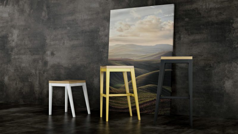 CGI Or Product Photography Studio: Artistic Stool Design View12