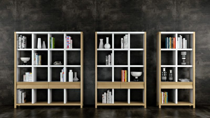 CGI Or Product Photography Studio: Bookshelves View12