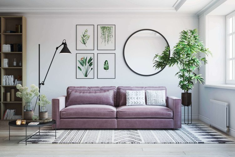 Product Roomset 3D Visualization for Sofa