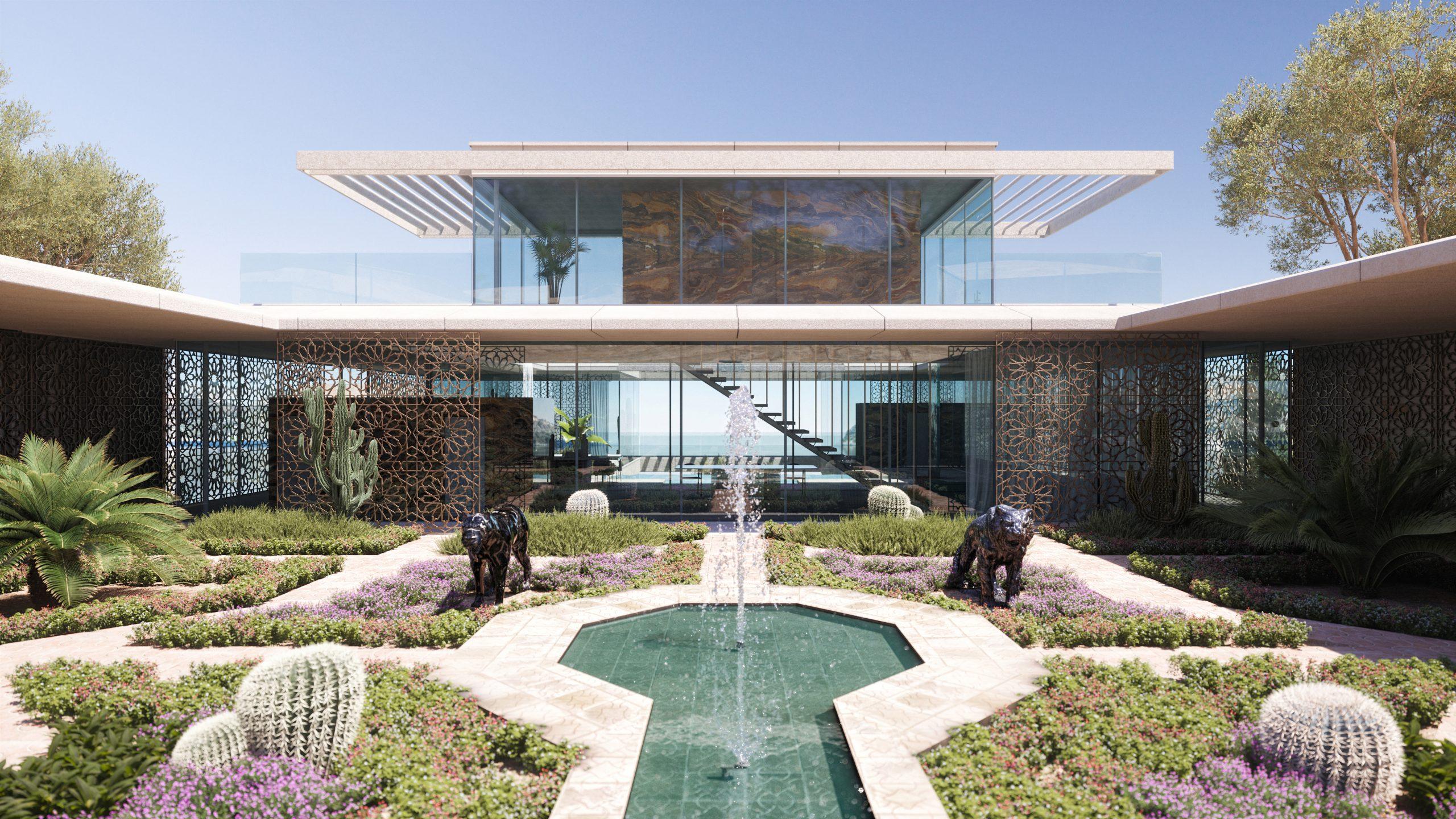 Photorealistic 3D Render for Villa