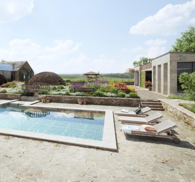 Architectural 3D Render for a Luxurious Villa Presentation