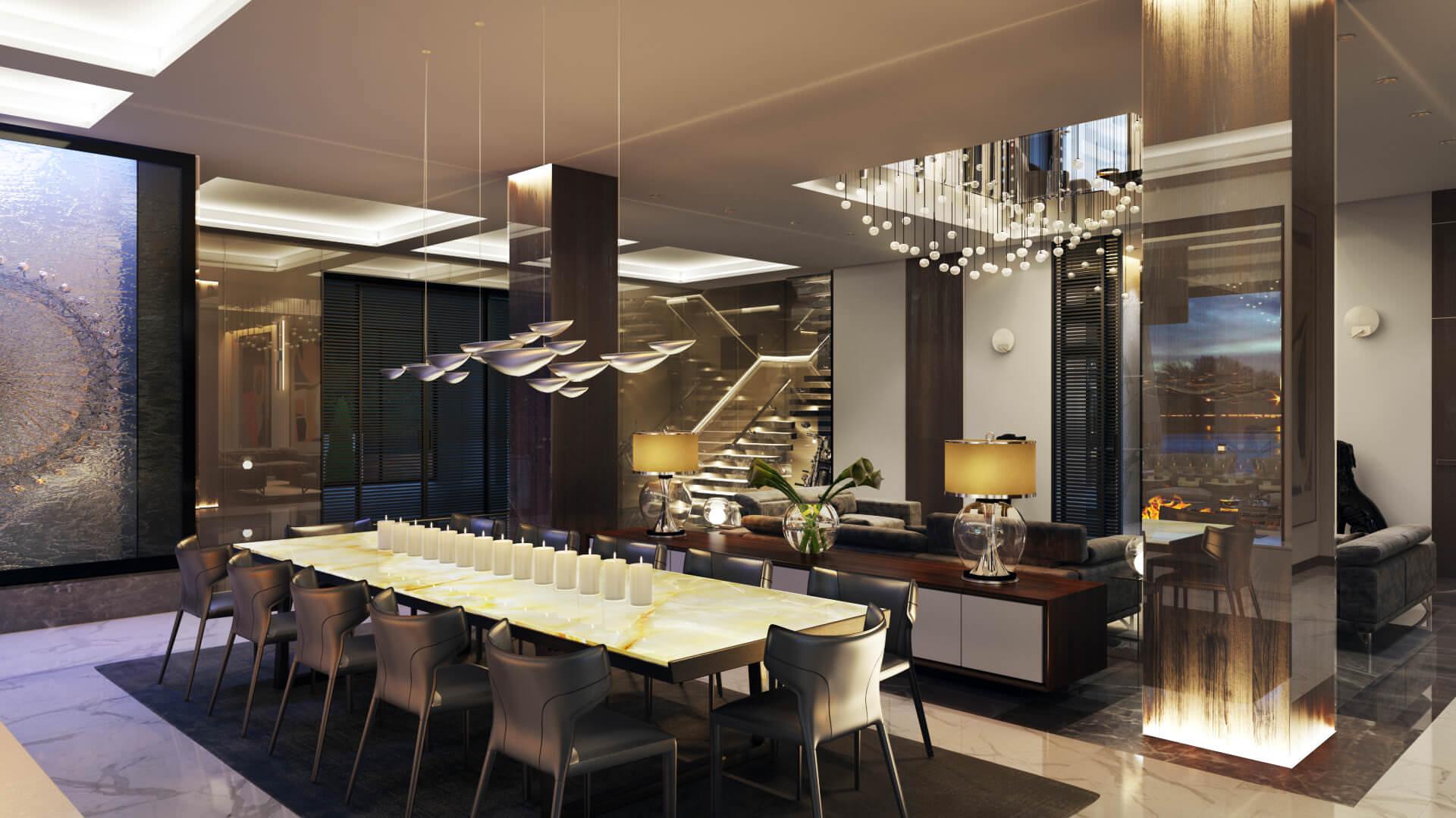 Photorealistic 3D Visualization for a Studio Interior Design