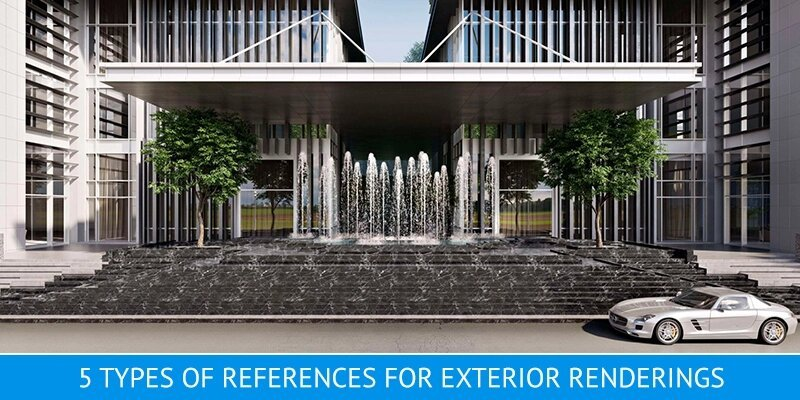 High-Quality 3D Renderings for Exterior Design