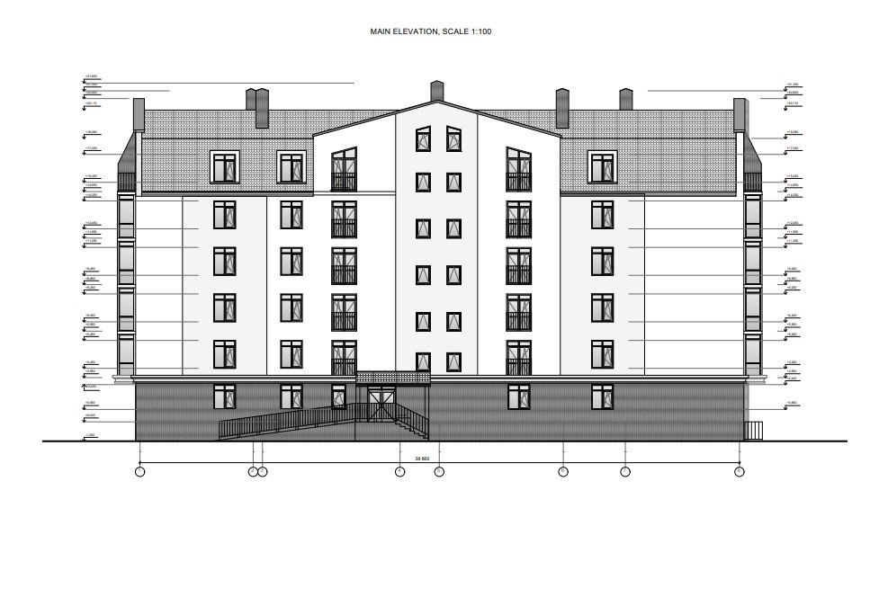 Reference Architectural Drawings for Exterior Renders