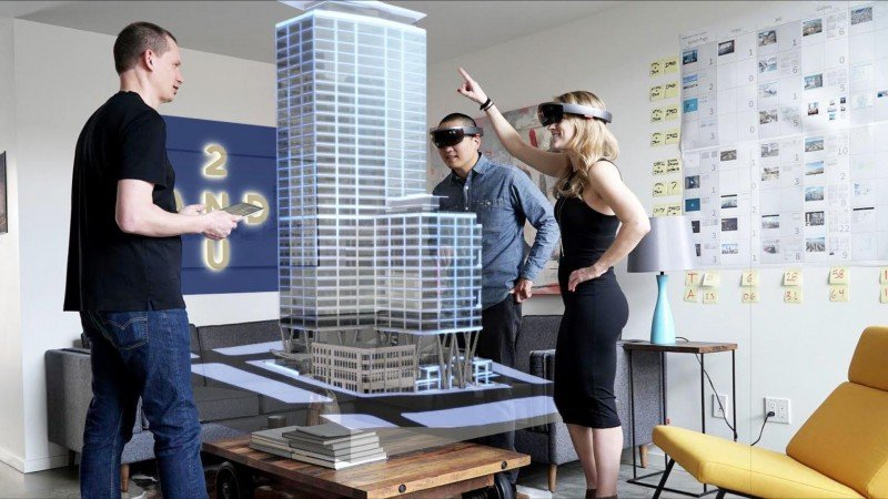 High-End Augmented Reality Presentations for an Architectural Project