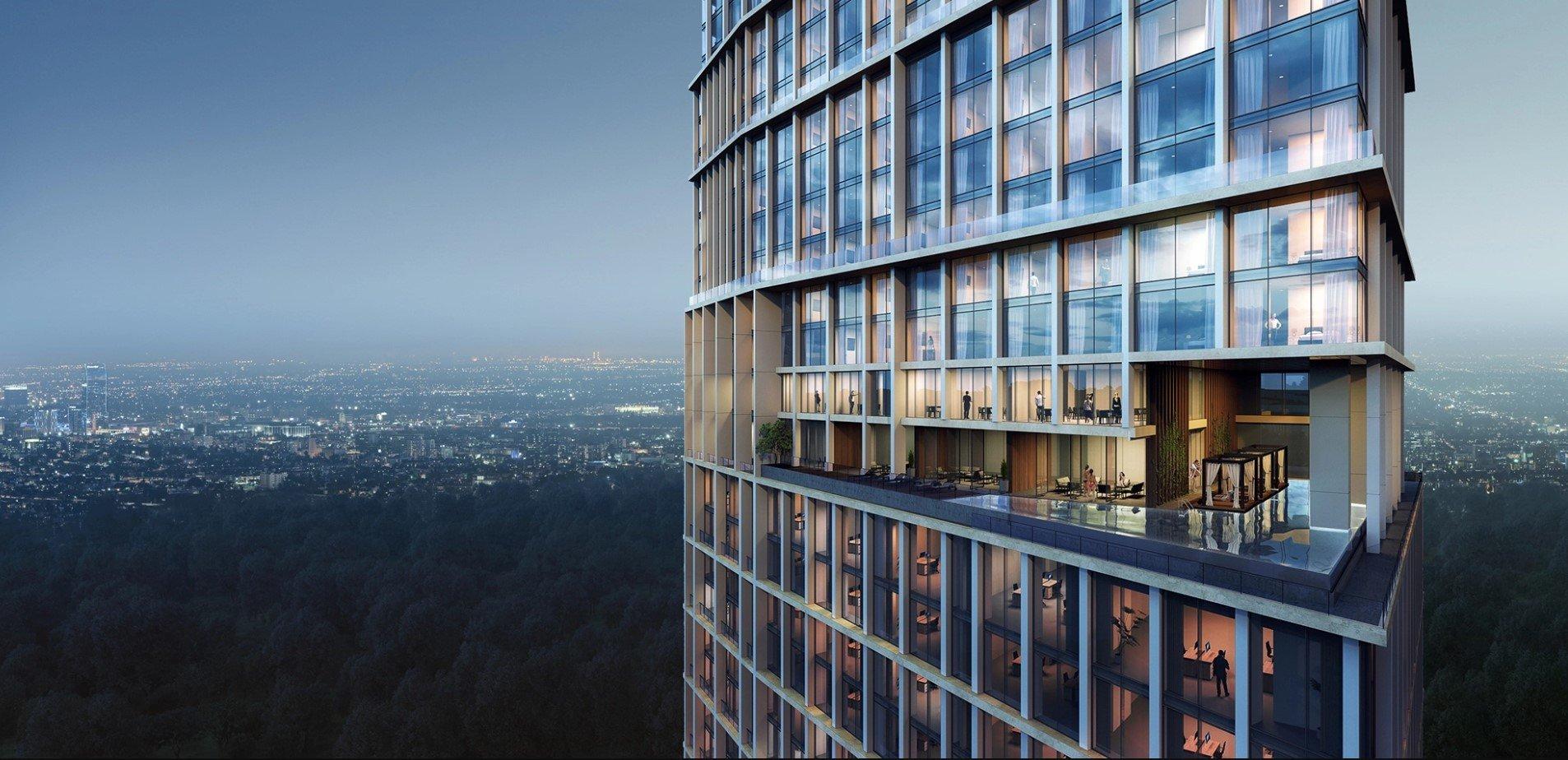 3D Visuals for Skyscraper Exterior