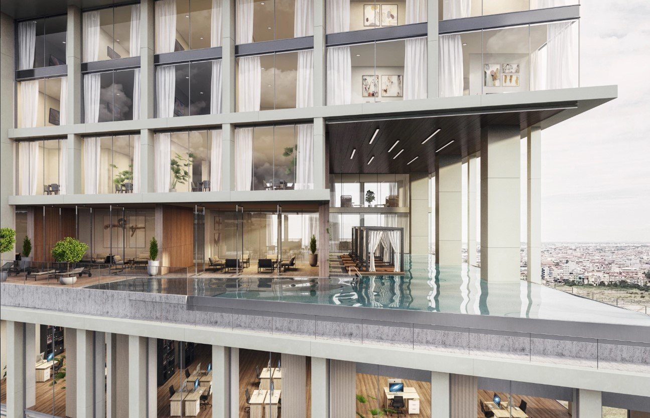 3D Visualization for Office Building