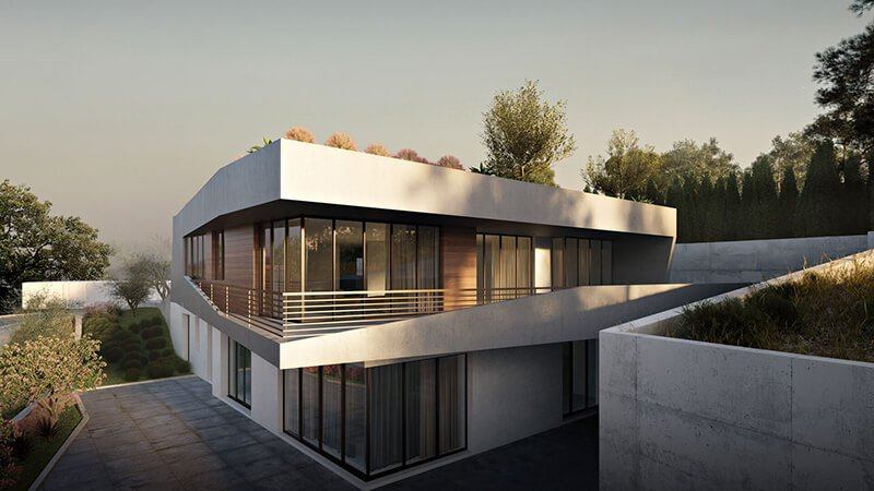 6 Opportunities For Architects With 3D Modeling And Rendering Services: Office Exterior