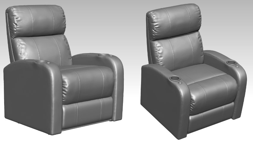 High-Quality 3D Models for a Furniture Design Project