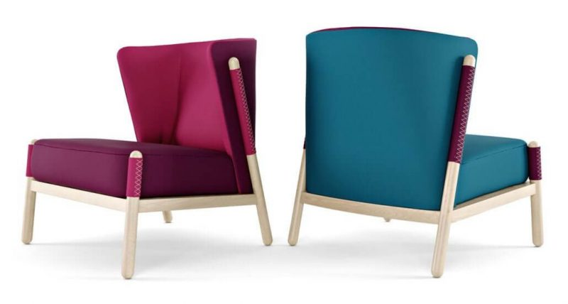 Two Chairs Based on the Same 3D Product Model