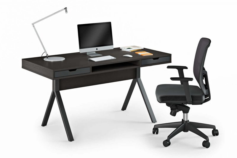Black Armchair and Table in a 3D Product Render