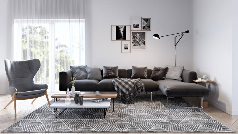 CGI for a Modern Interior
