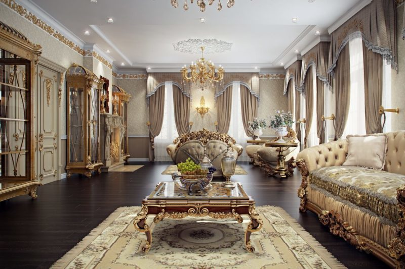 3D Visualization for a Spectacular Living Room Interior