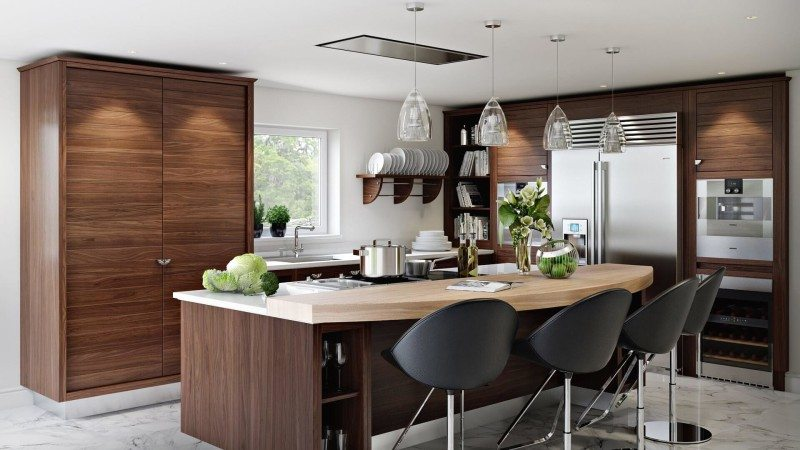 Interior visualization for kitchen