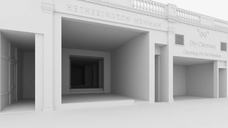 Architectural Modeling for 3D Exterior Visualization