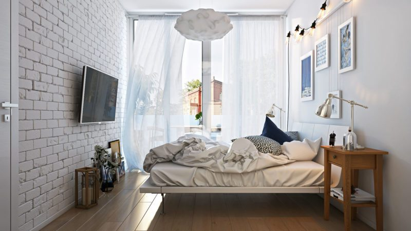 Architectural Visualization Project: Loft Bedroom