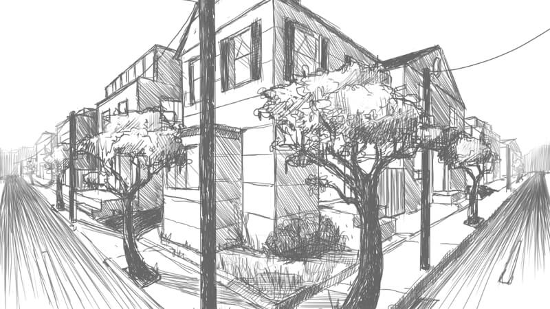Best Options For Presentation: 2D Or 3D Architectural Illustration: Sketches