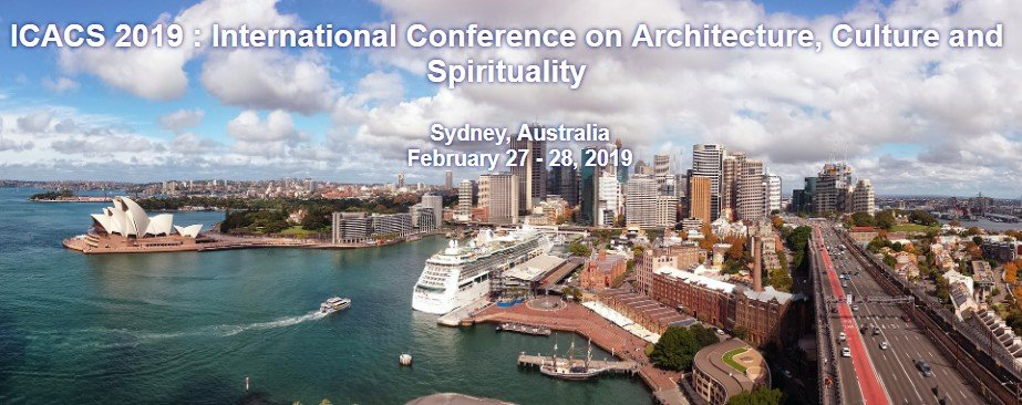 21st International Conference on Architecture ICACS 2019