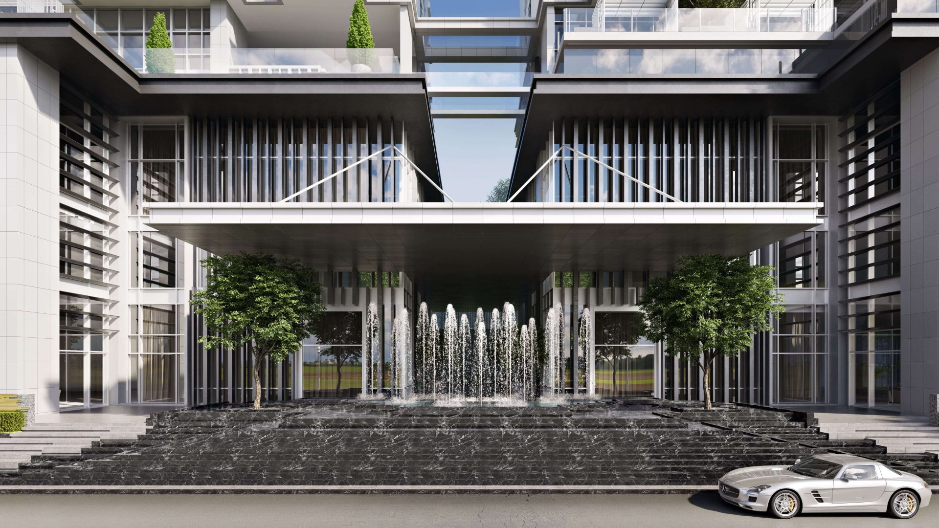 Photorealistic 3D Renderings for Exterior Design