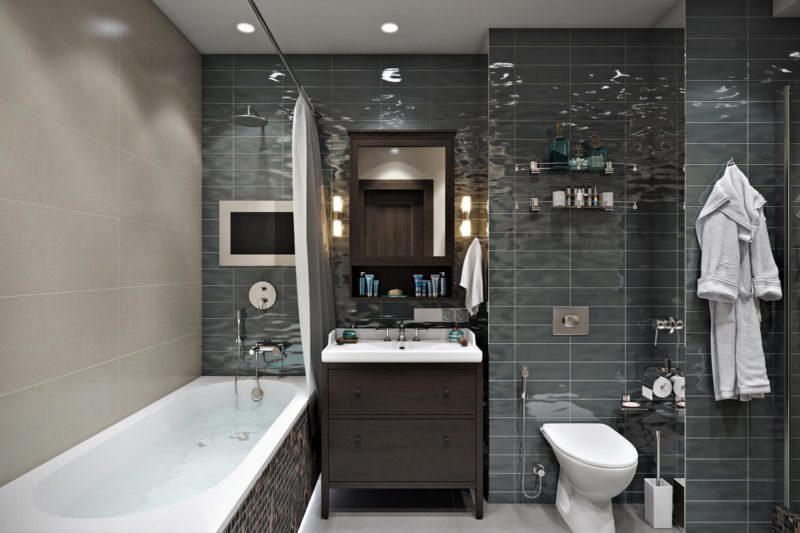 An Awesome Bathroom Project With Interior Design Rendering Services