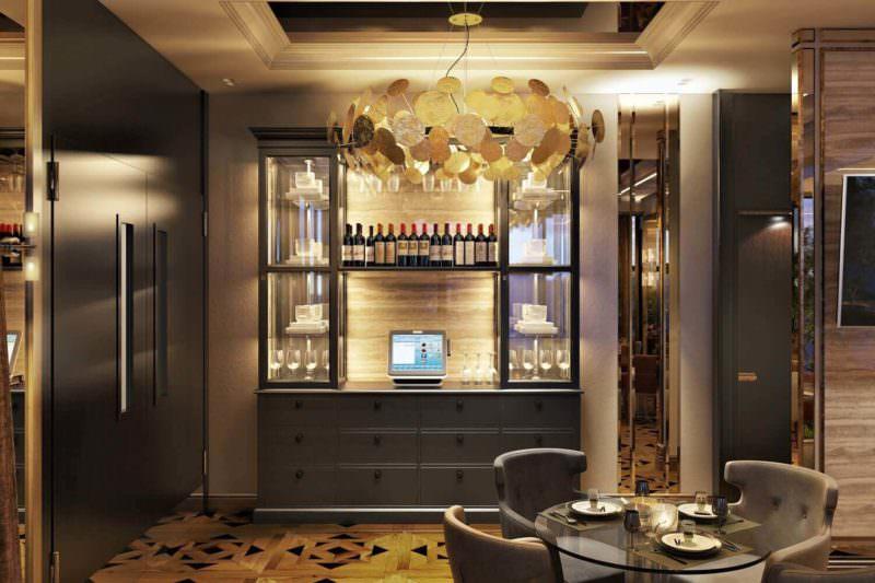 Realisitic Interior Design Renderings For Restaurant Space Zoning