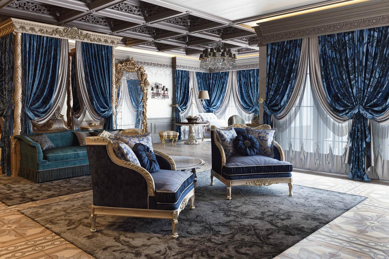 Master Bedroom 3D Rendering for Interior Design Presentation View01