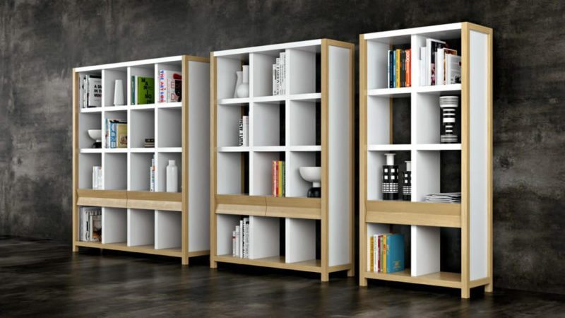 Examples Of Outsource Product Rendering: Stylish Shelving View08