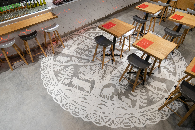 Wursthans Restaurant 3D Rendering