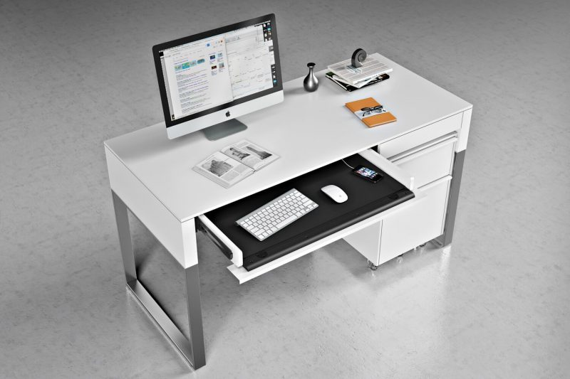 Top-Notch 3D Rendering for an Office Desk Design