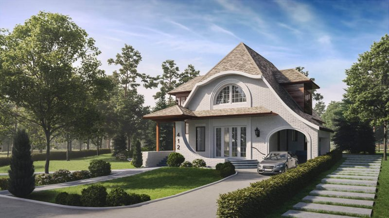 Picturesque Cottage Architectural Visualization