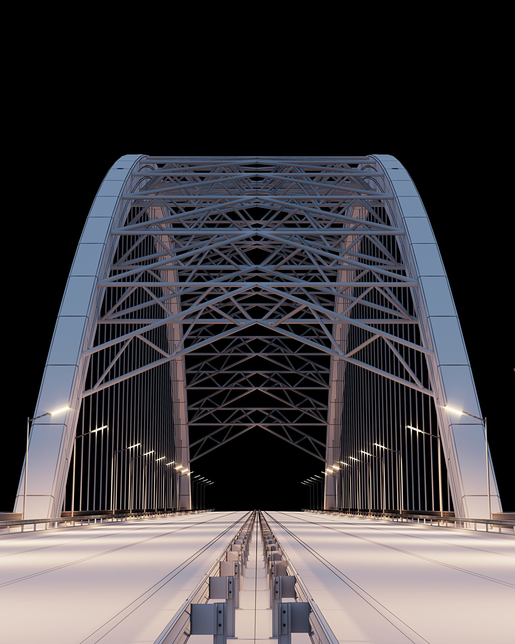 3D Model of a a Ukrainian Bridge