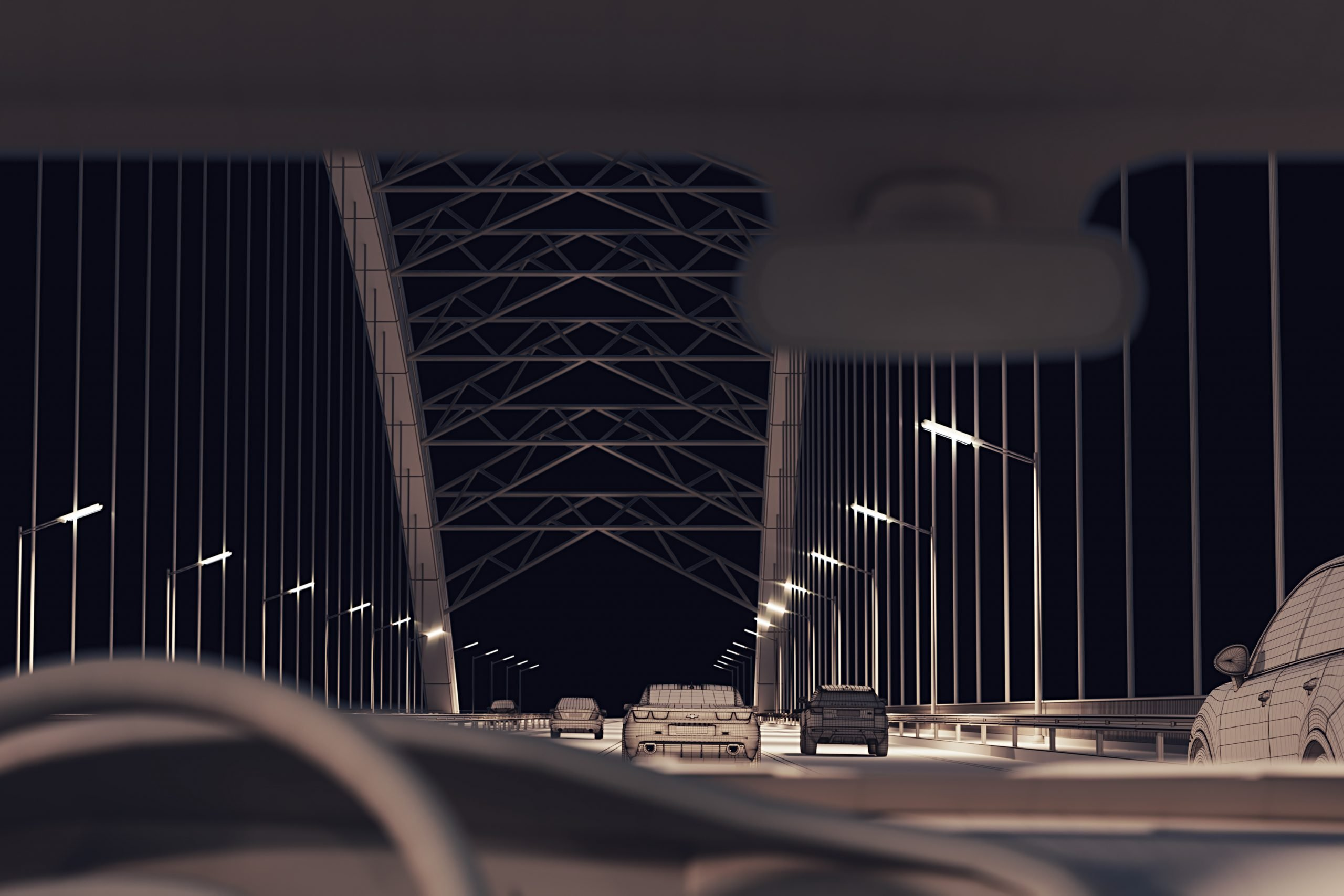 3D Modeling for a Second View of a Bridge