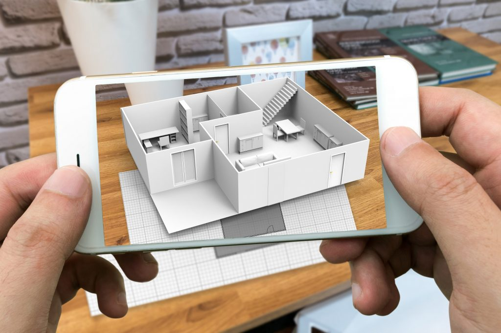 An Augmented Reality Demonstration of a Building's Layout