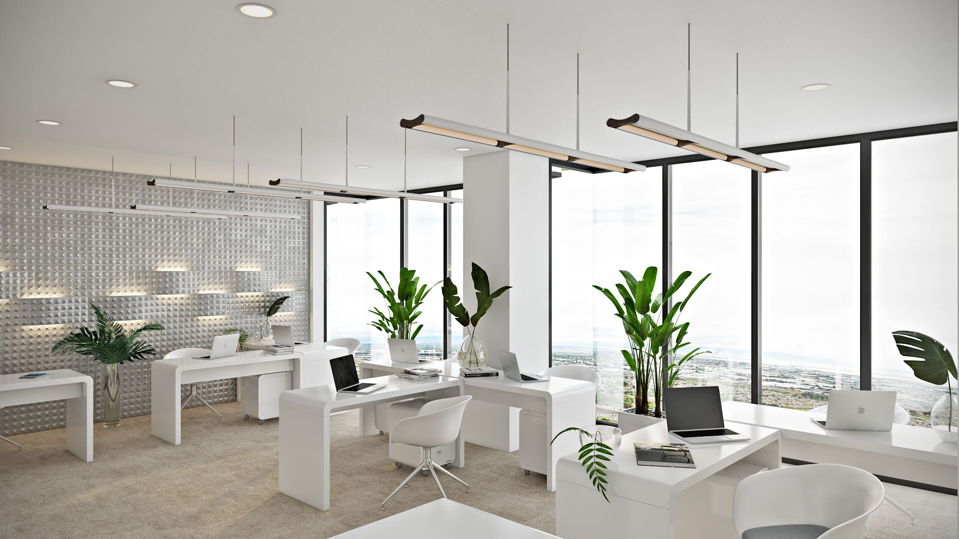 Photoreal Visualization for an Office Space Design