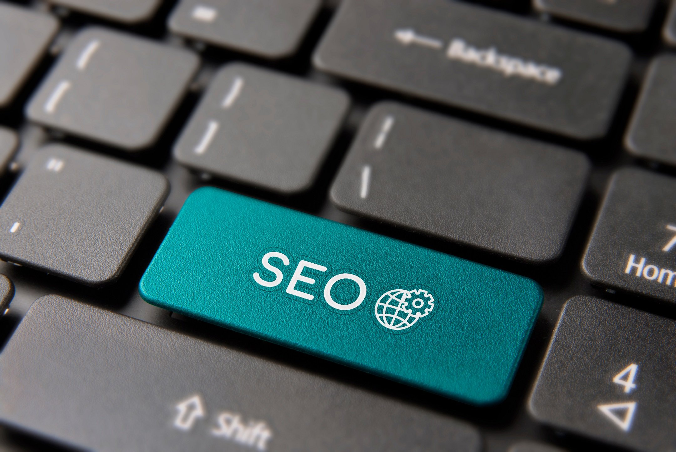 The Concept of SEO on Houzz Shown on a Keyboard