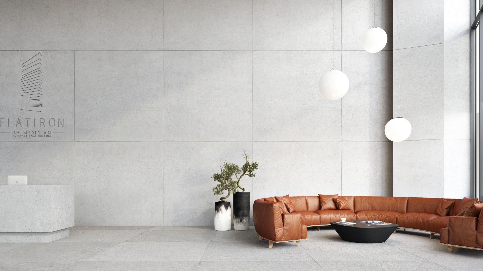 Flatiron Lobby Interior Design 3D Rendering