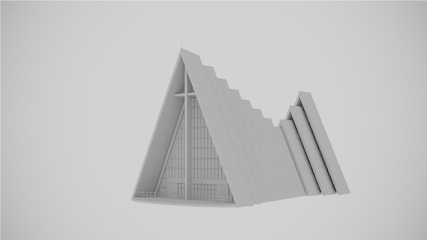 Architectural Design Visualization: Geometry Stage