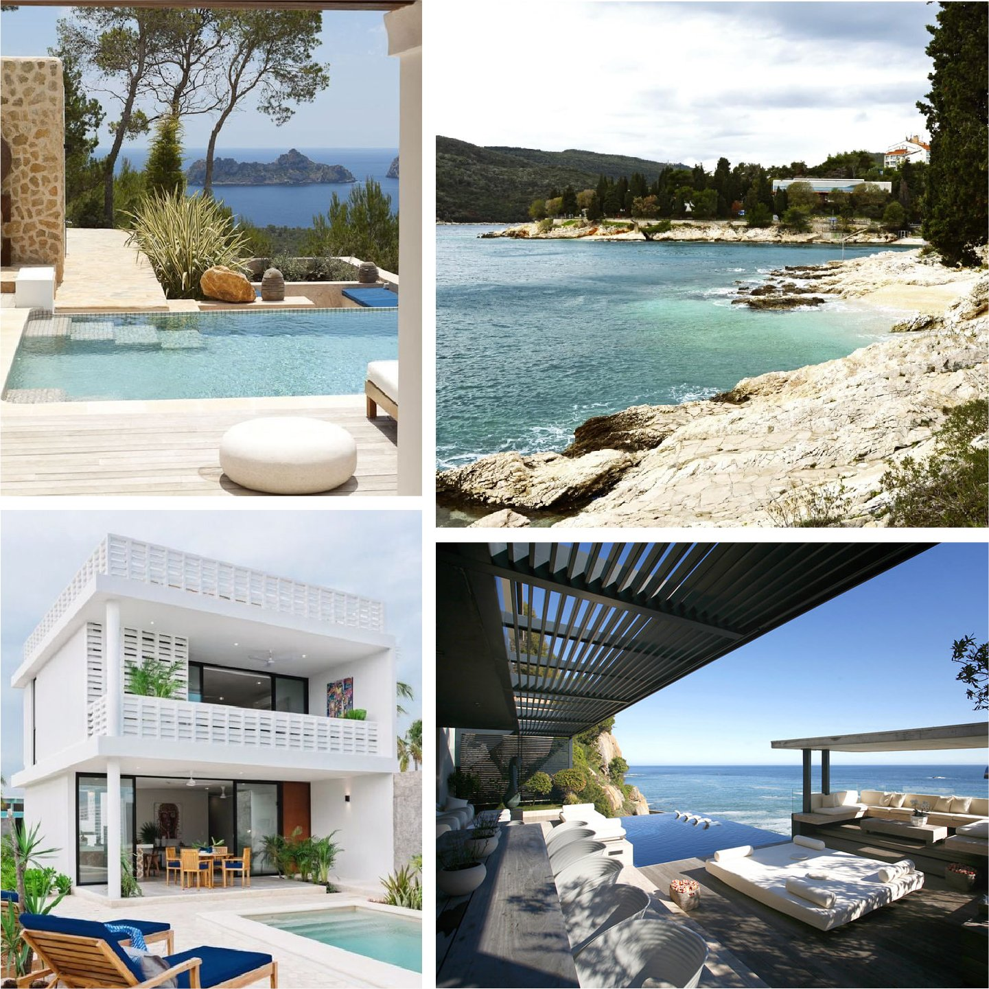 Imagery for Villa Rendering Project Inspiration