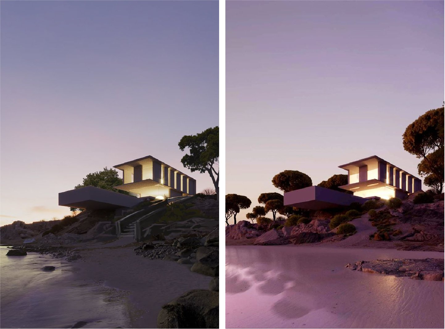 Exterior 3D Visualization for a Second Concept of the CGI Project