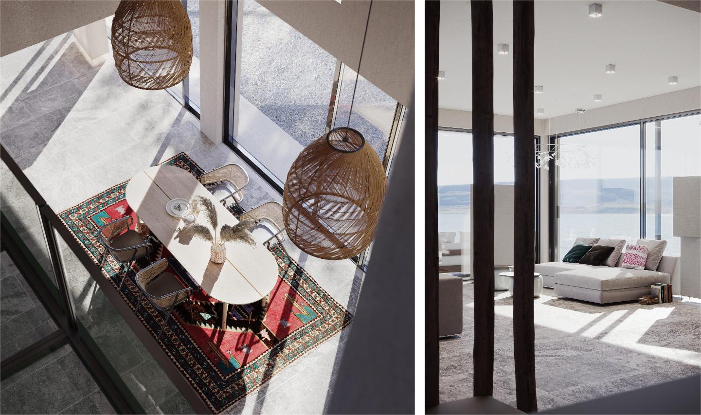 Photoreal Render for a Villa Interior