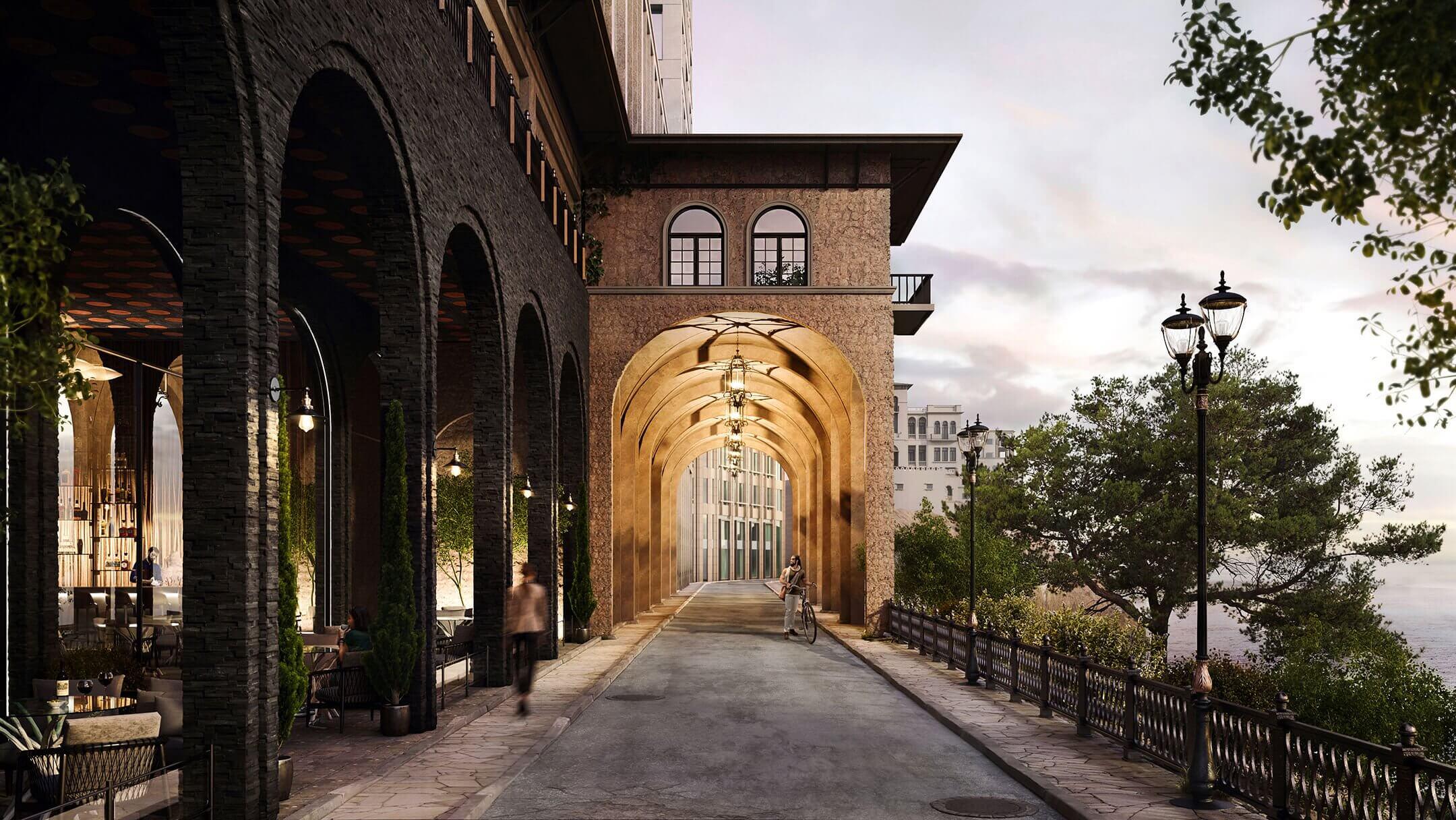 СGI Advantage: Unfinished Restaurant Design